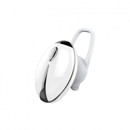 JKC001 BT Wireless Earphones Mini Portable Earbuds Business Sports Headset Handsfree HD Call For Mobile Phone (White)